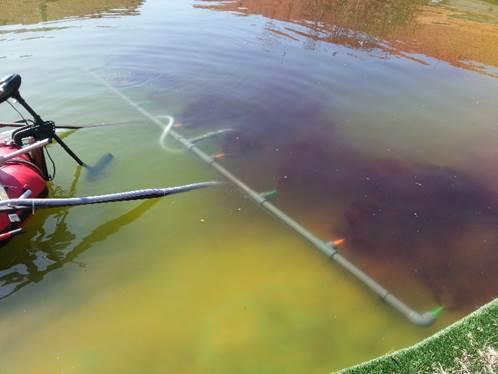 Algae bloom removal | NANOIRON